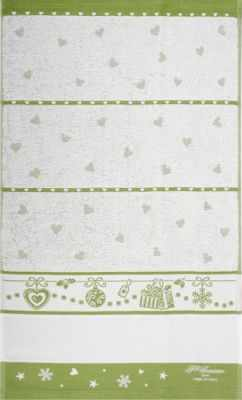 CU4745 Махровое полотенце(40*70, зеленый)