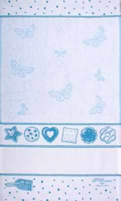 CU4599 Махровое полотенце (40*70, голубой)