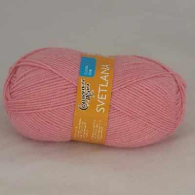 Пряжа Семеновская Светлана Цвет.20 Розовый