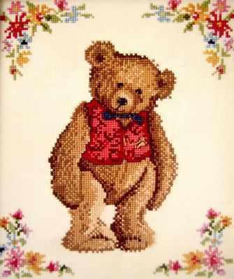 Набор для вышивания Classic Design 4349 Мистер Тедди