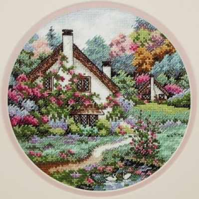 4373 Домик в саду