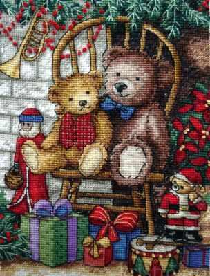 Набор для вышивания Classic Design 4377 Новогодние подарки