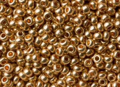 Бисер Preciosa 18184 Бисер золото 10/0, 20гр Preciosa