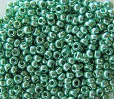 18558 Бисер solgel металлик 10/0, 20гр Preciosa
