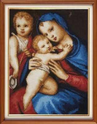 G-127 Мадонна с младенцем - Наборы для вышивания «Гобелен Классик»