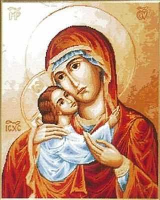 G-701 Мадонна с младенцем 1 - Наборы для вышивания «Гобелен Классик»