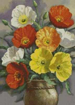 Набор для вышивания Гобелен Классик G-901 Тюльпаны картина магазин гобеленов букет подсолнухи 39 73 см гобелен