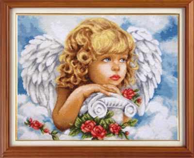 X-1408 Небесный ангел - Наборы для вышивания «Гобелен Классик»
