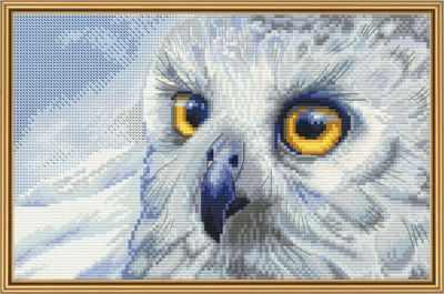 Набор для вышивания Nova Sloboda НВ 5510 Полярная сова
