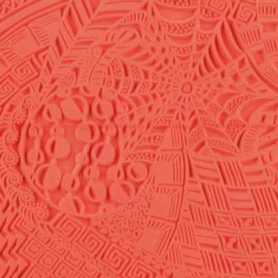 CE95009 Текстура для пластики резиновая 9х9 см Сны - Инструменты для лепки из полимерной глины