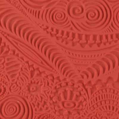 CE95001 Текстура для пластики резиновая 9х9 см Фристайл - Инструменты для лепки из полимерной глины
