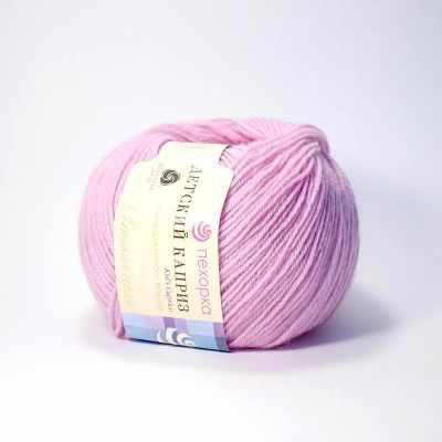 Пряжа Пехорка Пряжа Пехорка Детский каприз Цвет.29-Розовая сирень