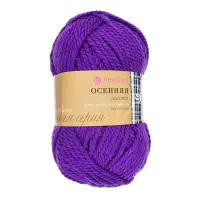 Пряжа Пехорка Пряжа Пехорка Осенняя Цвет.78-Фиолетовый