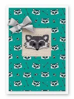 Набор для вышивания Luca-S (S)P-62 Набор для изготовления открытки