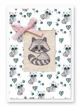Набор для вышивания Luca-S (S)P-60 Набор для изготовления открытки
