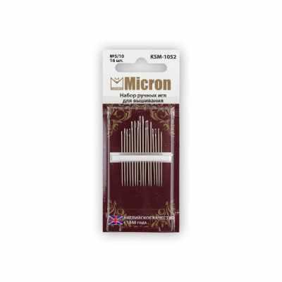 Иглыбулавки Micron KSM-1052 Иглы для шитья ручные