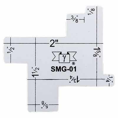 Аксессуар для шитья Gamma SMG-01 Измерительный шаблон