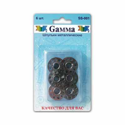 Аксессуар для шитья Gamma SS-001 Шпульки для шв.маш.металл