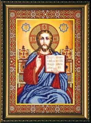 АВ-146  Венчальная пара Иисус  - Наборы для вышивки икон «Абрис-Арт»
