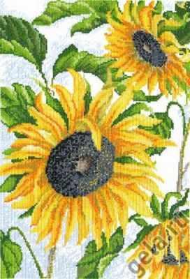 Набор для вышивания Марья искусница 04.002.03 Как солнышко