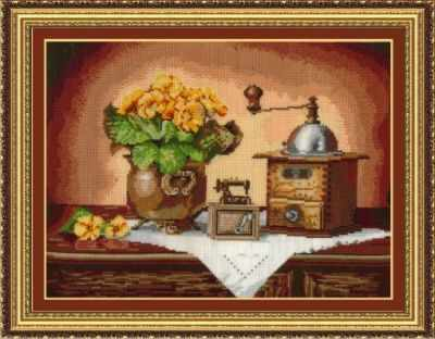 Набор для вышивания Сделай своими руками К-14 Кофемолка