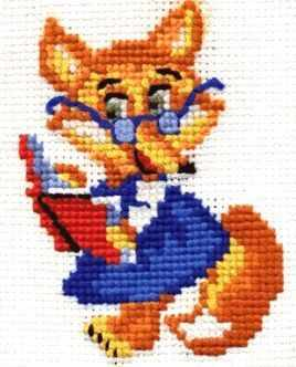 Набор для вышивания Сделай своими руками Л-06 Лисичка