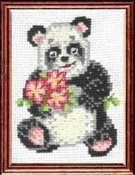 Набор для вышивания Сделай своими руками П-02 Панда кашин с п сост обустройство участка своими руками