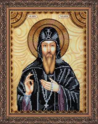 АА-102 Набор для вышивания бисером икона  Св.Захария (Захар)  - Наборы для вышивки икон «Абрис-Арт»