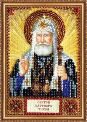 ААМ-124 Набор для вышивания бисером икона  Св. Тихон  - Наборы для вышивки икон «Абрис-Арт»