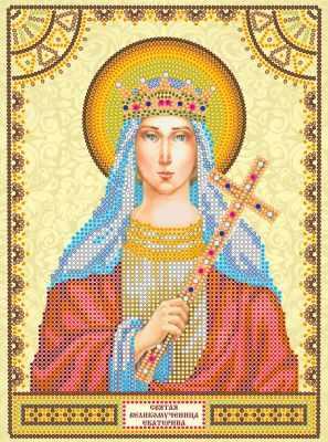 АСК-023 Схема  Святая Екатерина  - «Абрис Арт» (схемы для вышивки на холсте)