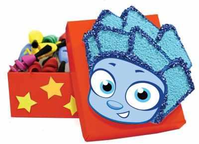 Набор для детского творчества Santa Lucia 2071 Фикси-шкатулка Нолик