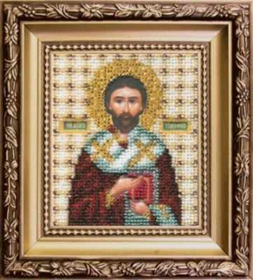 Б-1142  Икона Святого апостола Тимофея   чм - Наборы для вышивания икон «Чарiвна Мить»
