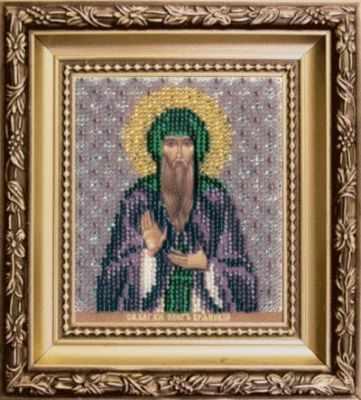Б-1160  Икона святого благоверного князя Олега Брянского   чм - Наборы для вышивания икон «Чарiвна Мить»