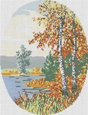 077-ST Осенний лес (Белоснежка) - Мозаика «Белоснежка»