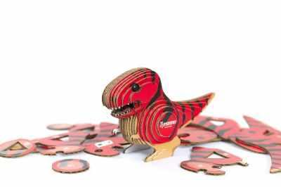 Набор для детского творчества PandaPuzzle КМ2005 «Тиранозавр» коллекционный
