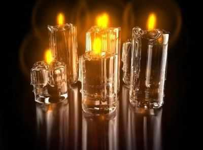 СК637  Симфония свечей  - Мозаика «ИМПЕРИЯ БИСЕРА»