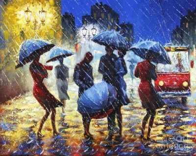 СК650  Дождь  - Мозаика «ИМПЕРИЯ БИСЕРА»