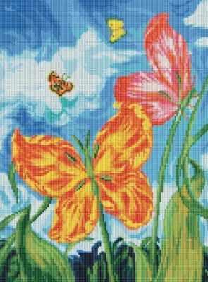 180-ST Бабочки (Белоснежка) - Мозаика «Белоснежка»