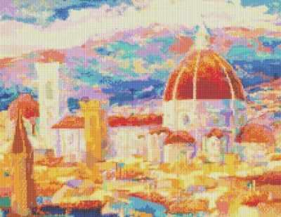 241-ST Дождь над Флоренцией (Белоснежка) - Мозаика «Белоснежка»