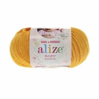 Пряжа Alize Пряжа Alize Baby Wool Цвет.14 Желток