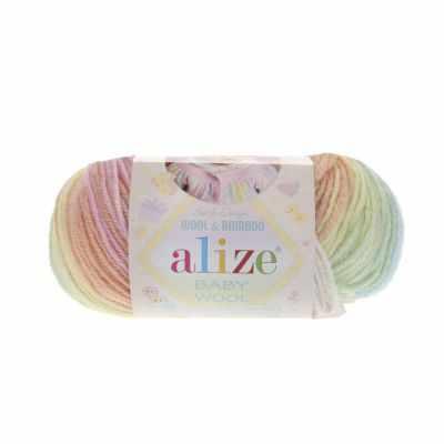 Пряжа Alize Пряжа Alize Baby Wool Batik Цвет.3563 Детский