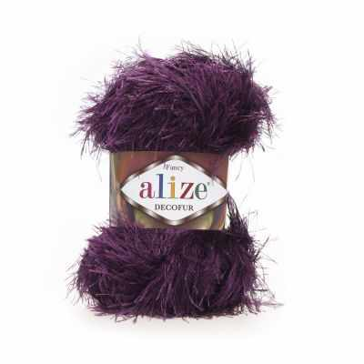 Пряжа Alize Decofur Цвет.304 Фиолетовый