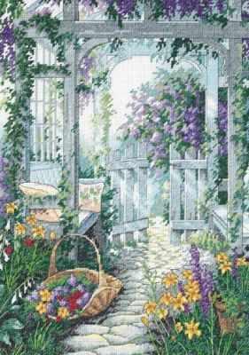 Набор для вышивания Classic Design 4394 Садовая беседка