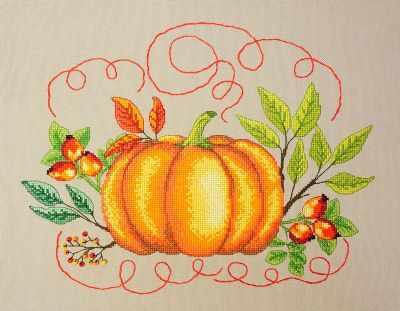 16.001.06 Тыква (МИ) - Наборы для вышивания «Марья Искусница»