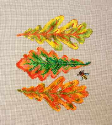 Фото - Набор для вышивания Марья искусница 16.001.04 Дубовые листья набор для вышивания марья искусница 16 001 04 дубовые листья