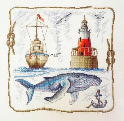 Фото - Набор для вышивания Марья искусница 11.006.03 Морская набор для вышивания марья искусница 16 001 04 дубовые листья