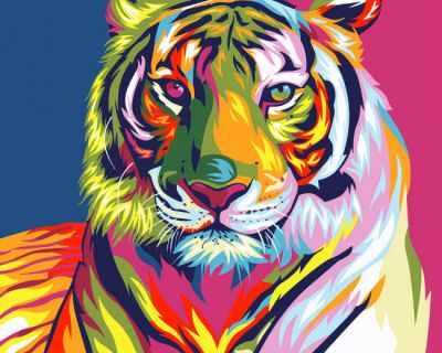 304001012 Тигр - Картины из песка