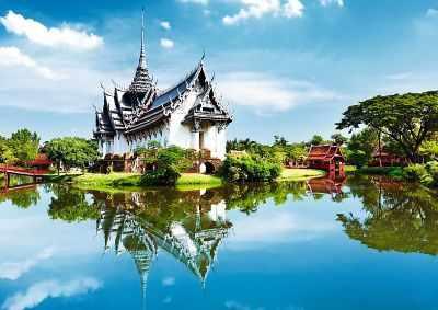 10437 Дворец. Таиланд, 1000 деталей - Пазлы