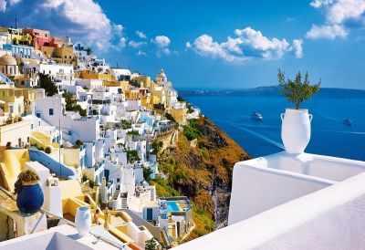 Купить со скидкой 26119 Санторини, Греция, 1500 деталей