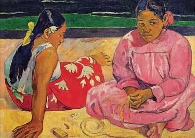 10362 Таитянские женщины на пляже, Гоген, 1000 деталей - Пазлы